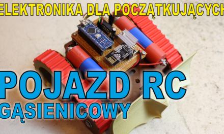 Robot Gąsienicowy RC
