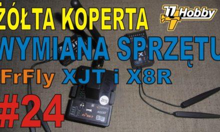 77HOBBY.PL- Wymiana sprzętu na FrSky XJT i odbiorniki X8R – ŻÓŁTA KOPERTA – #24