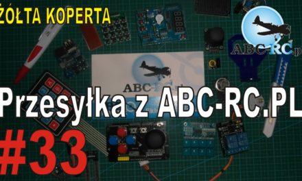 ABC-RC.PL – Przesyłka z ABC-RC.PL – ŻÓŁTA KOPERTA – #33