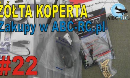 "ABC-RC.PL- Unboxing ""typowej"" paczki ze sklepu – ŻÓŁTA KOPERTA – #22"