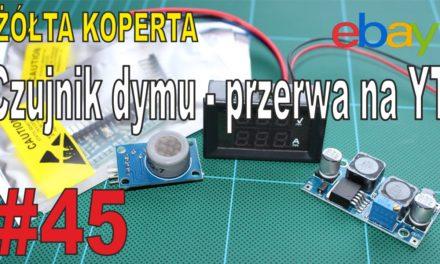 eBay – Czujnik dymu – arduino z aliexpress – PRZERWA … – ŻÓŁTA KOPERTA – #45