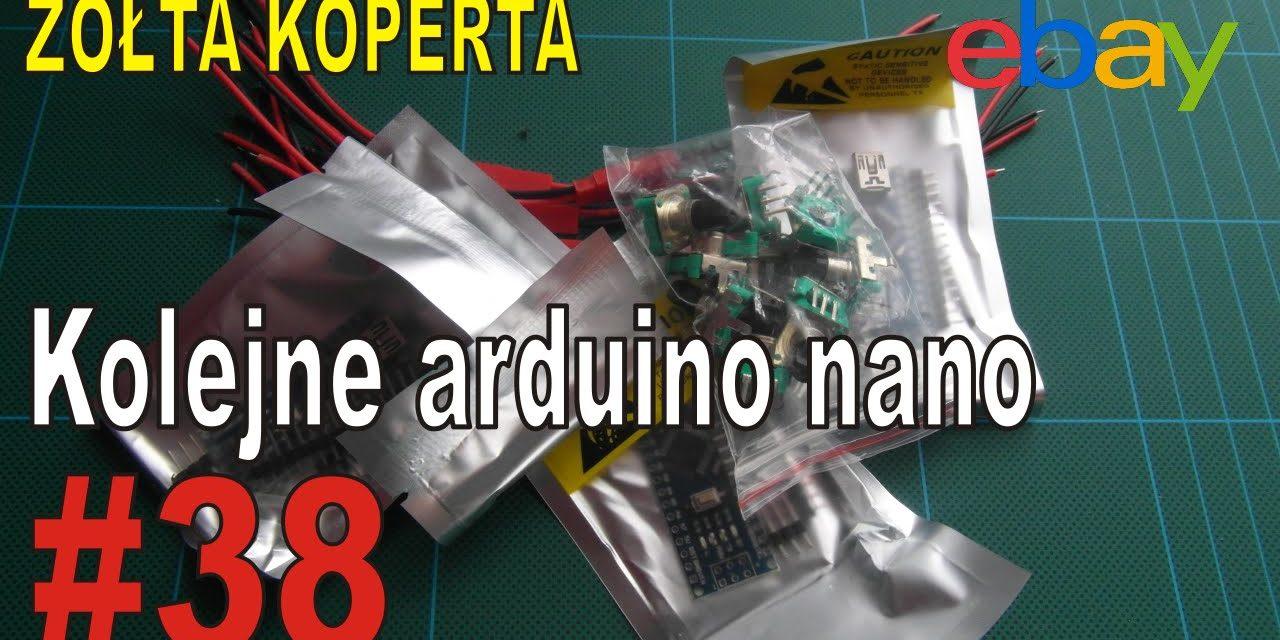 eBay – Kolejne arduino nano – ŻÓŁTA KOPERTA – #38