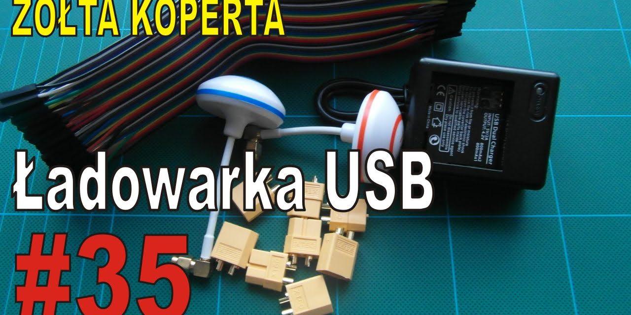 eBay – Ładowarka USB do kamery XIAOMI YI – ŻÓŁTA KOPERTA – #35