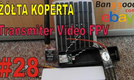 eBAY – Mini transmiter Video do FPV – ŻÓŁTA KOPERTA – #28