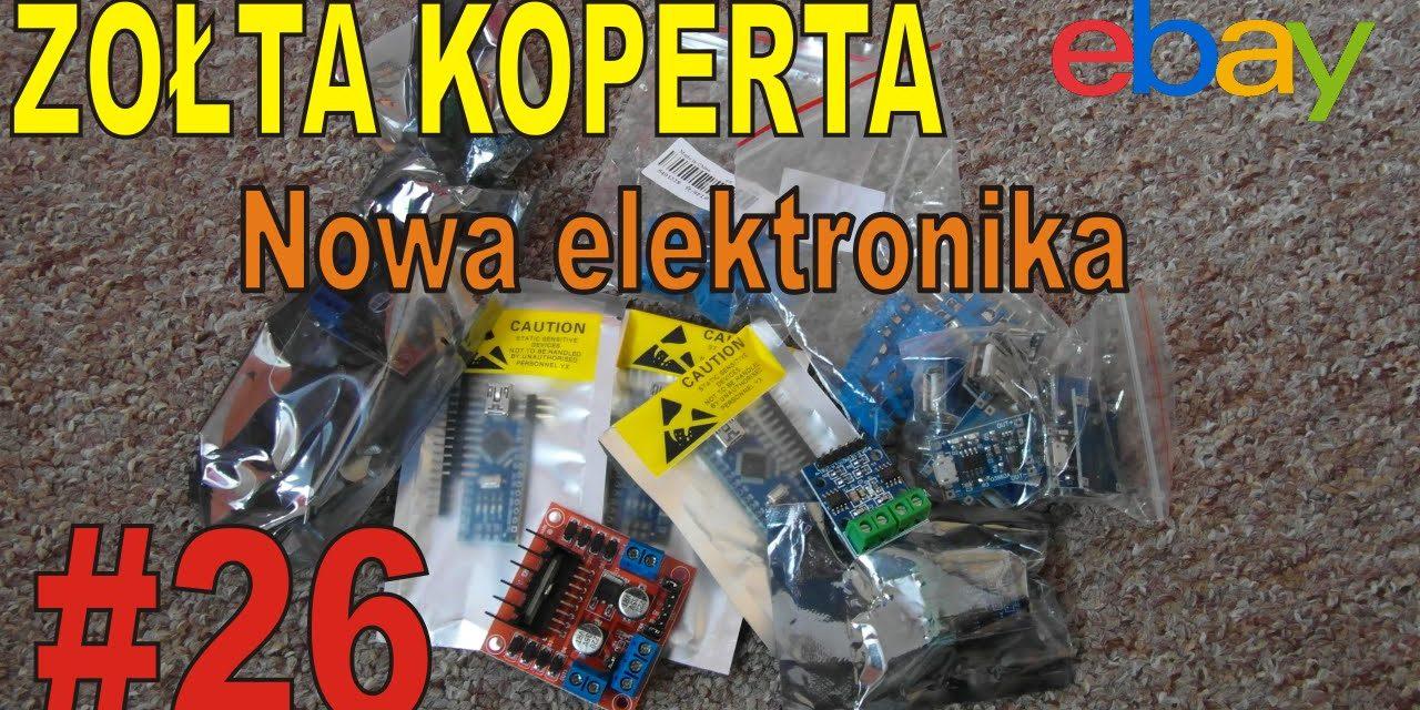 eBAY – Nowa elektronika – ŻÓŁTA KOPERTA – #26