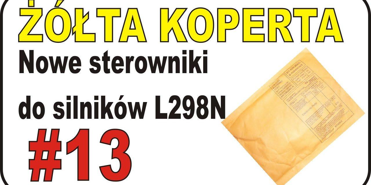 eBAY – Nowe sterowniki do silników L298N – ŻÓŁTA KOPERTA – #13
