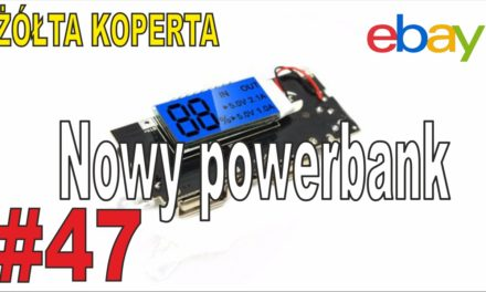 eBay – Nowy powerbank i transmiter video – ŻÓŁTA KOPERTA – #47