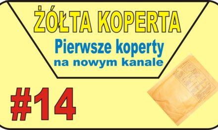 eBAY – Pierwsze koperty na nowym kanale :)) – ŻÓŁTA KOPERTA – #14