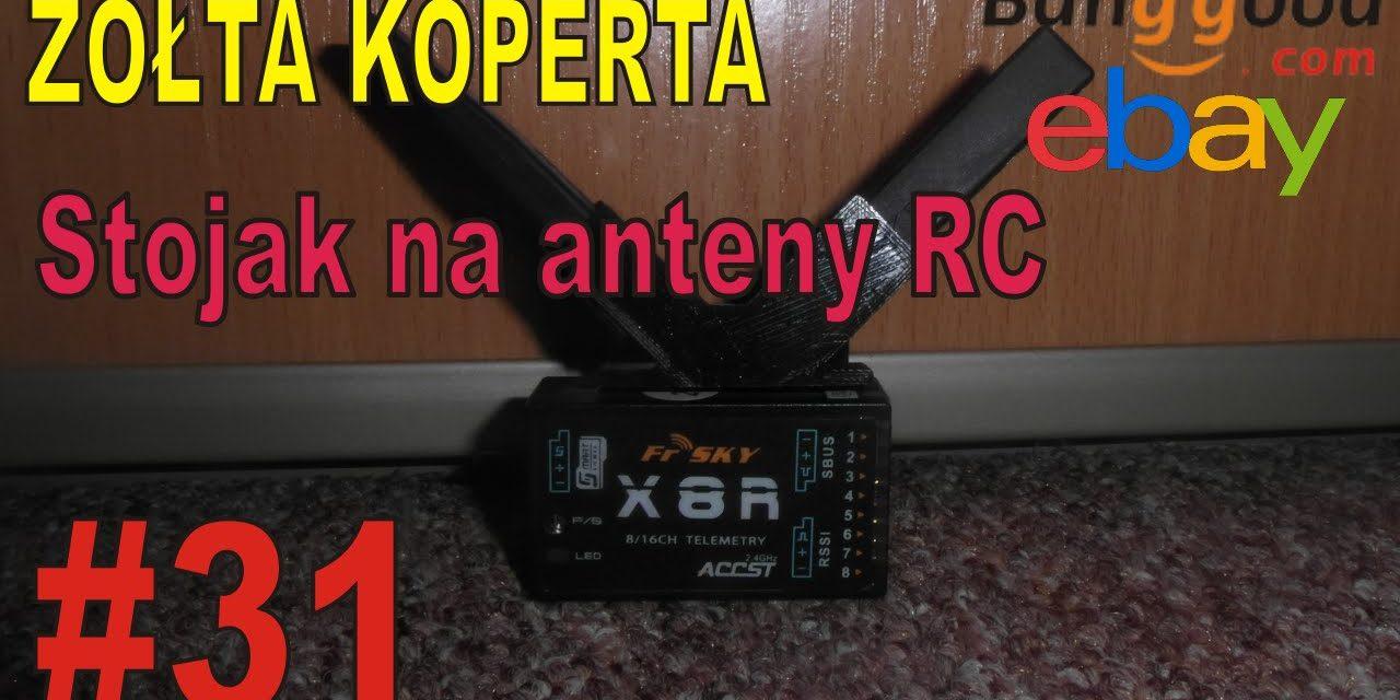 eBAY – Stojak na antenę odbiornika RC – ŻÓŁTA KOPERTA – #31