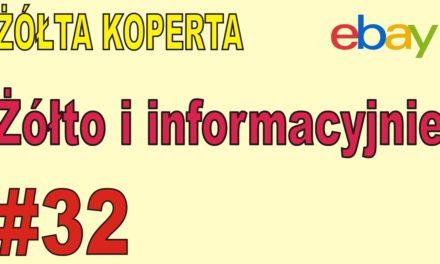 eBAY – Żółto i informacyjnie – ŻÓŁTA KOPERTA – #32