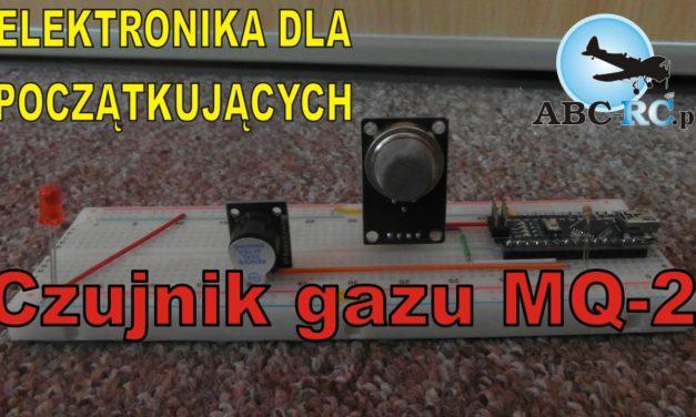 Elektronika … –  Czujnik gazu/dymu MQ-2 – prezentacja podłączenia – ABC-RC.PL