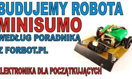 ELEKTRONIKA DLA POCZĄTKUJĄCYCH – MiniSumo cz.1 – BUDUJEMY ROBOTA