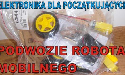 Elektronika … – Podwozie robota mobilnego – ABC-RC.PL