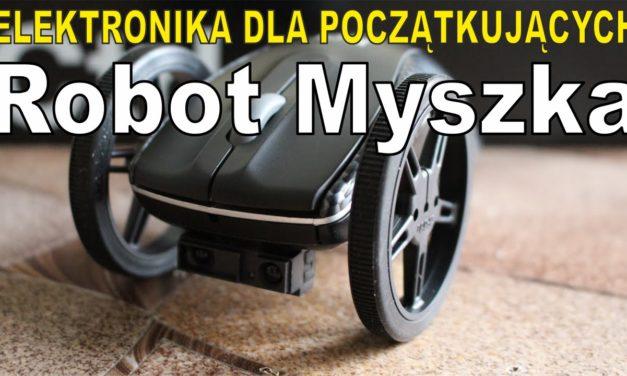 Elektronika … –  Prezentacja robota MYSZKI – Robot omijający przeszkody