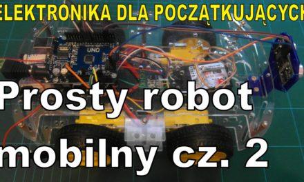 Elektronika … – Prosty robot mobilny cz.2. Budujemy robota – pojazd RC.