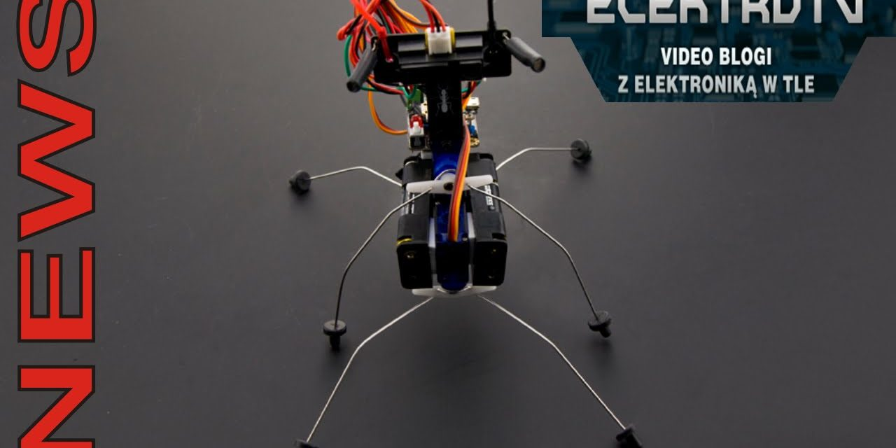 ElektroTV NEWS – Robot kroczący – zapowiedź