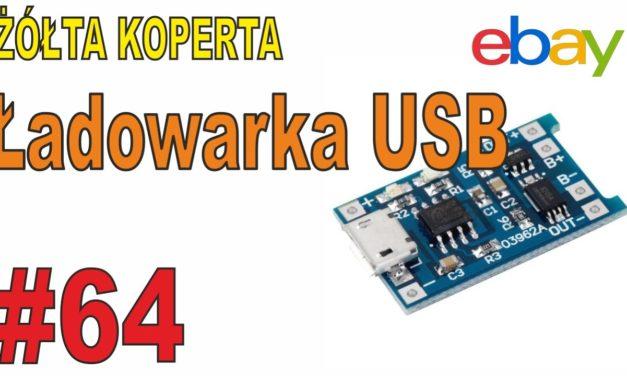 Ładowarki USB do LIONÓW – ŻÓŁTA KOPERTA – #64