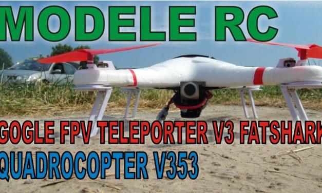 MODELE RC – Gogle FPV Teleporter V3 i Quadocopter V353 WLToys – moje wrażenia