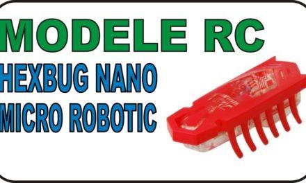 MODELE RC – Hexbug Nano – Walki micro robotów – REANIMACJA ROBOTA!