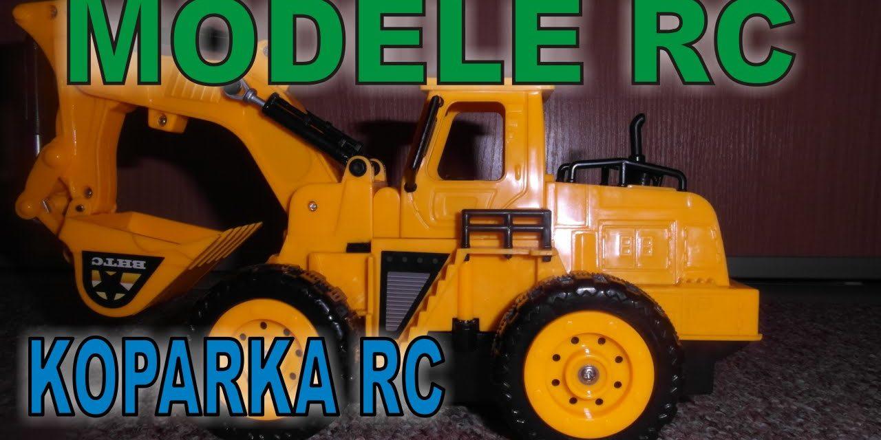 MODELE RC – Koparka zdalnie sterowana z ruchomą łopatą – unboxing