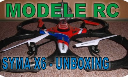 MODELE RC – Quadrocopter SYMA X6 – unboxing