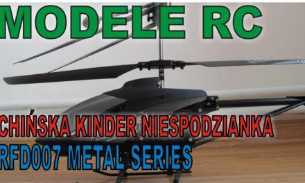 MODELE RC – Unboxing helikopter RFD007 – Chińska Kinder Niespodzianka