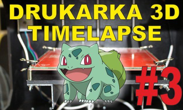 TIMELAPSE – Printo H2 – Bulbasaur prawie jak z Pokemon Go