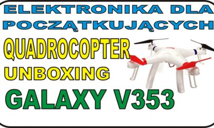 Unboxing QUADROCOPTER WLtoys GALAXY V353