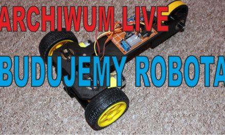 ARCHIWUM – 10.06.2017r. – Budujemy robota – podwozie + początek elektroniki