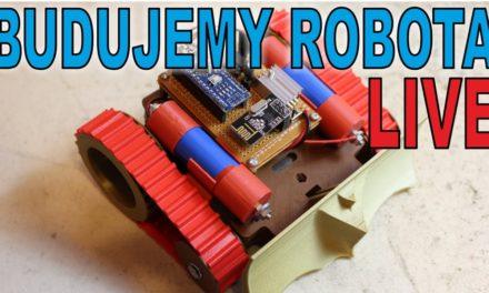 ARCHIWUM LIVE – 28.05.2017r. – Budujemy robota gąsienicowego – Guziec v2 – Majsterkowanie na żywo