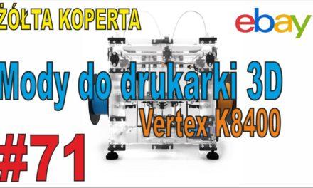 Mody do drukarki 3D – Vertex K8400 – Łożysko do spinnera – ŻÓŁTA KOPERTA – #71