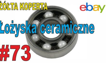Yerba Mate – łożyska ceramiczne do spinerów – ŻÓŁTA KOPERTA – #73