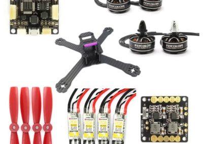 Quadrocopter Flycolor GB210 – zestaw DIY
