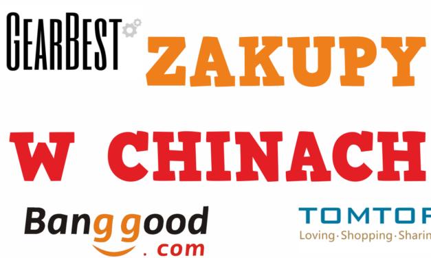 Moje zakupy w chinach oraz polecane produkty
