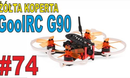 "Nowa ""zabawka""- Mini Quadcopter FPV – GoolRC G90 – ŻÓŁTA KOPERTA – #74"