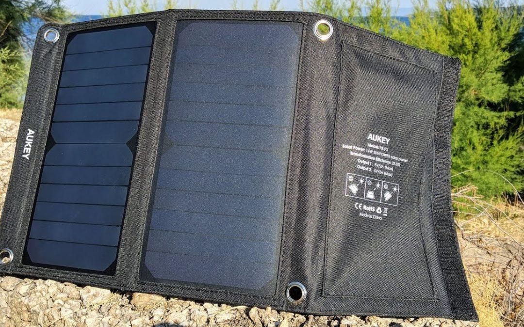 Aukey PB-P3 – Recenzja ładowarki słonecznej