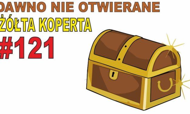 Dawno nie otwierane zakupy – ŻÓŁTA KOPERTA #121