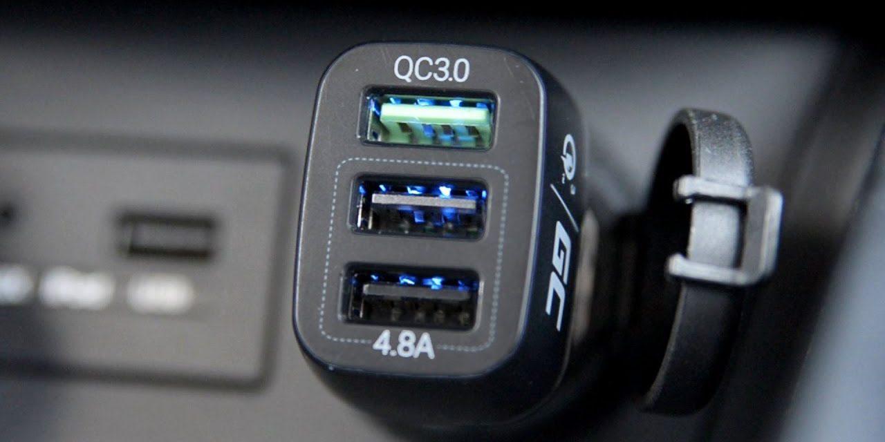 Green Cell Car Charger 3 – Ładowarka samochodowa z Quick Charge 3.0