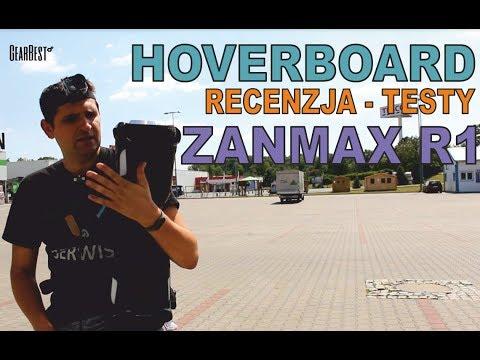 Hoverboard – Recenzja – Testy – Nauka – ZANMAX R1 – deska elektryczna