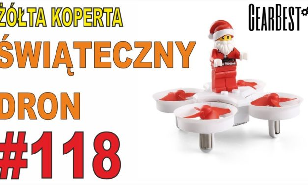 Świąteczny dron – ŻÓŁTA KOPERTA #118