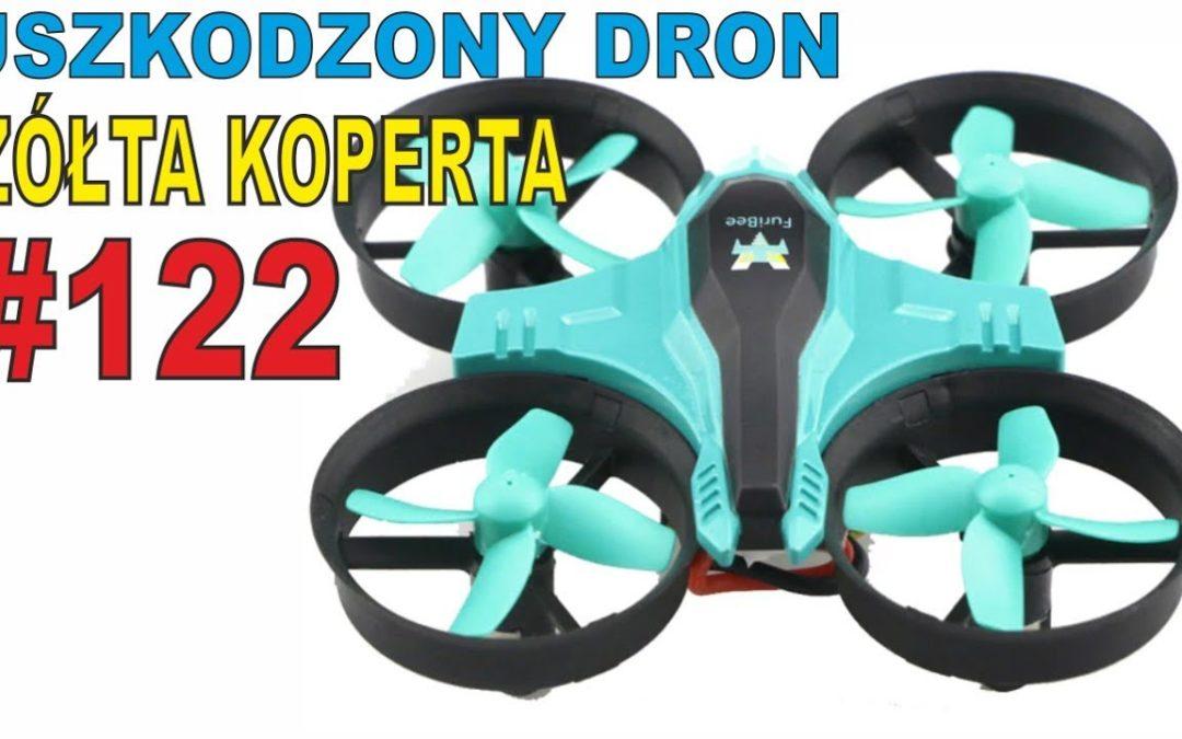 Uszkodzony dron, F36 FuriBee – Mavic Pro unboxing – ŻÓŁTA KOPERTA #122