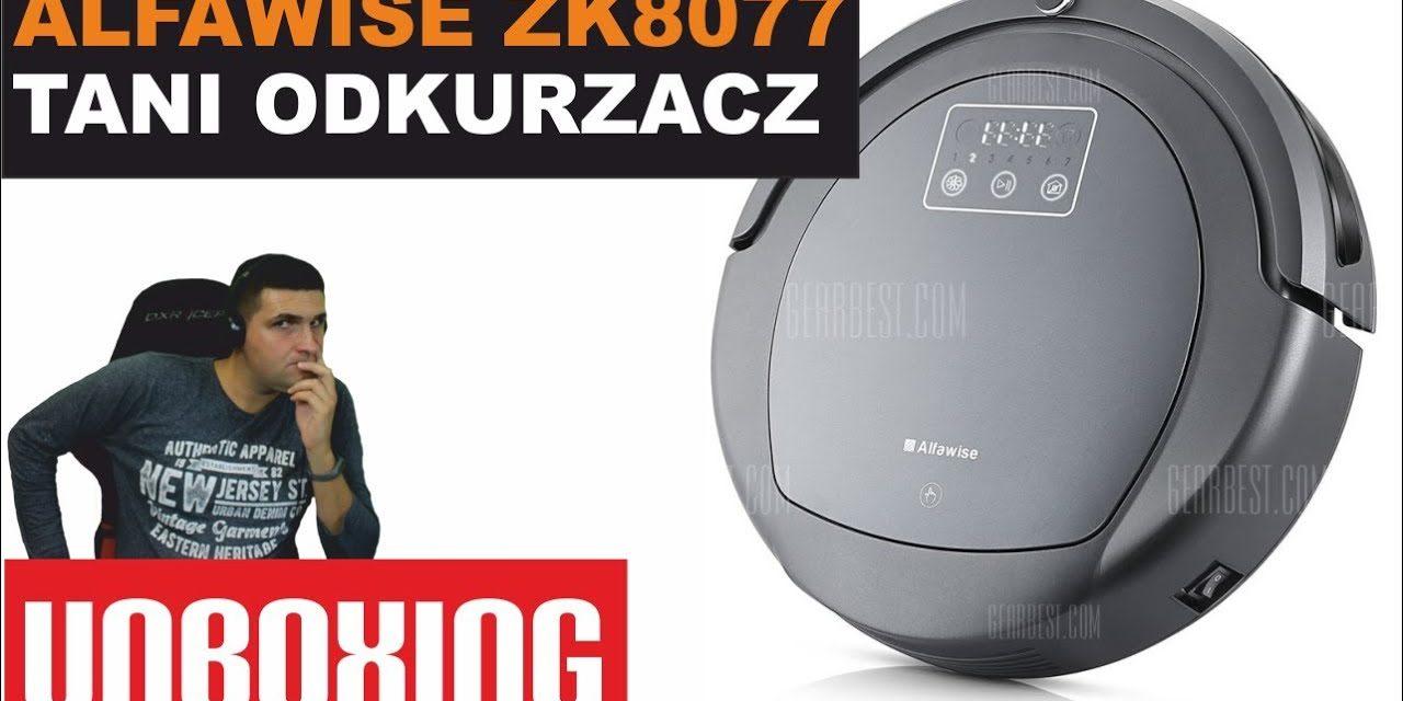 Alfawise ZK8077 – Tani odkurzacz inteligentny – UNBOXING
