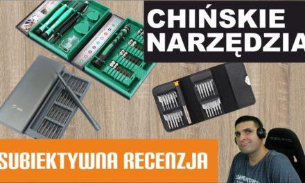 Chińskie narzędzia – wkrętaki – prezentacja – test