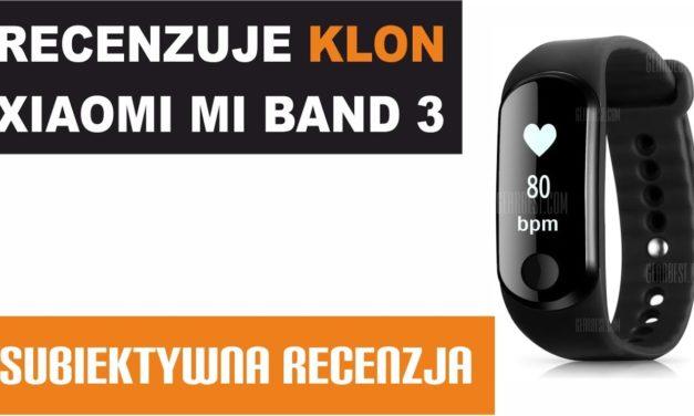 Recenzuje KLON Xiaomi Mi Band 3 – Alfawise Mini 3