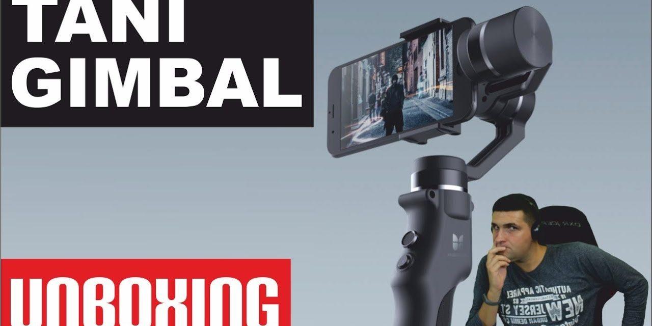 Tani gimbal z Chin – Funsnap Capture – UNBOXING