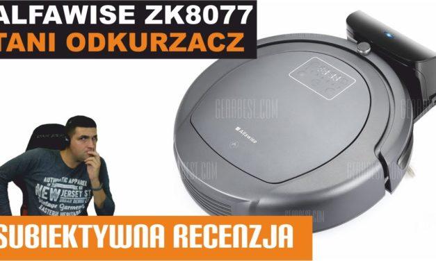 Tani odkurzacz inteligentny – Alfawise ZK8077 – TESTY RECENZJA