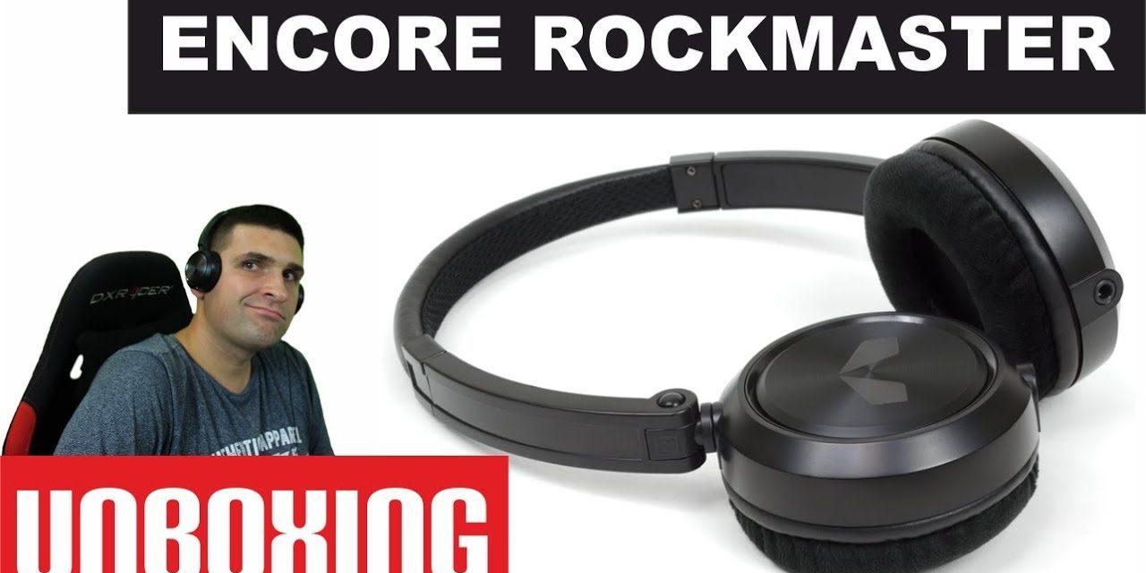 Unboxing składane słuchawki ENCORE ROCKMASTER – AudioMagic.pl