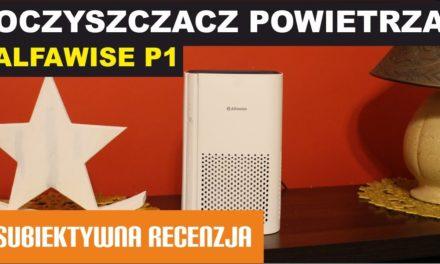 Alfawise P1 – Tani oczyszczacz powietrza – filtr HEPA 3in1