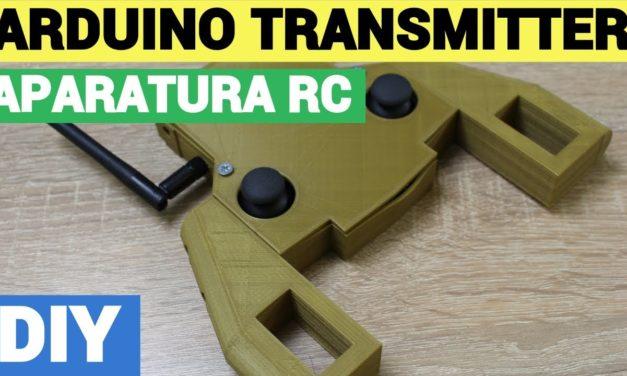 Arduino RC Transmitter – NRF24L01 – Aparatura RC v1