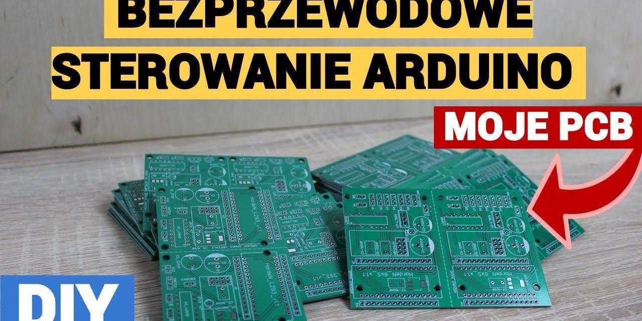 Bezprzewodowe sterownie Arduino – MOJE PCB